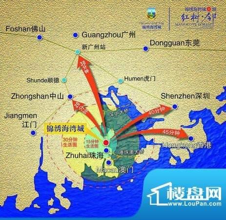 锦绣海湾城位置图