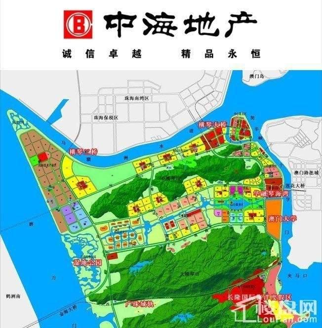 中海名钻花园位置图