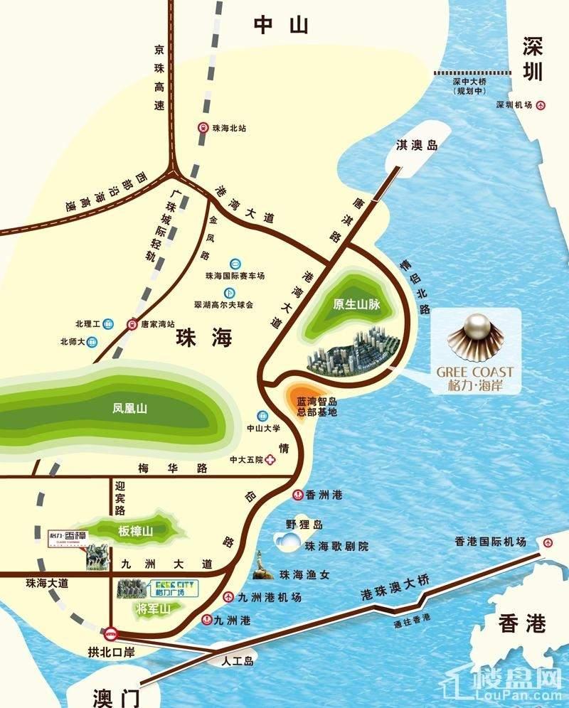 格力海岸位置图