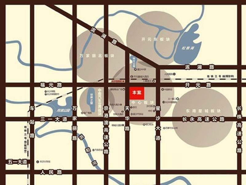星隆国际广场位置图
