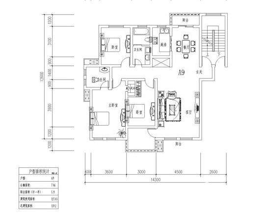 翡翠城户型图