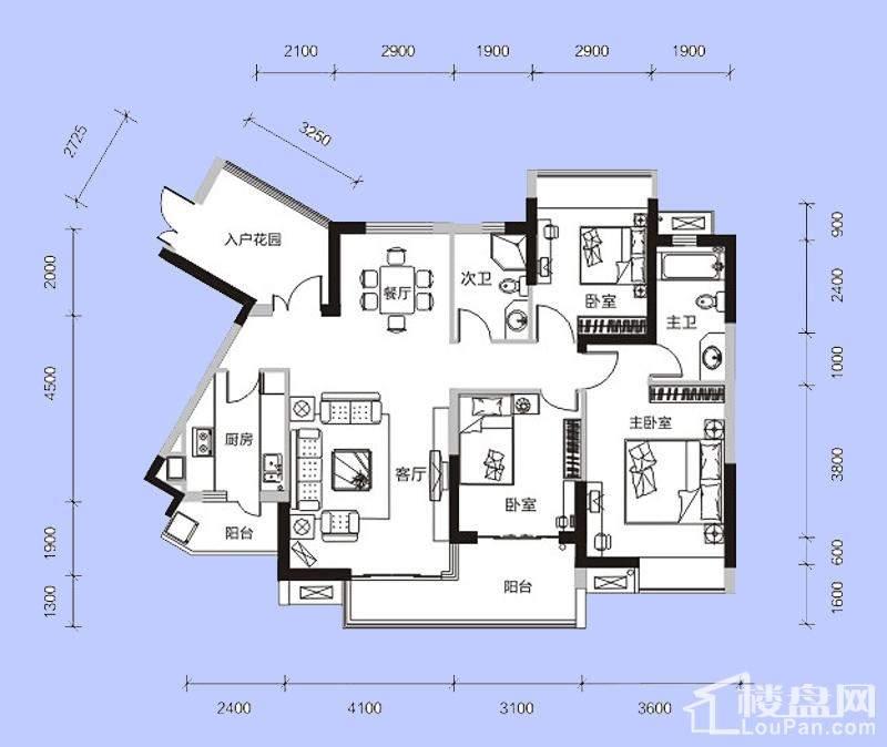 C3舒适生活家户型