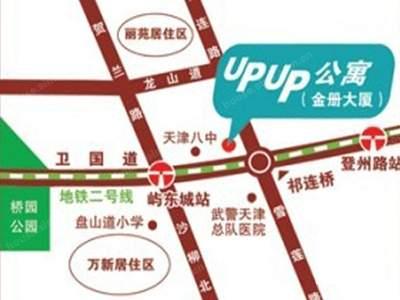 UPUP公寓位置图