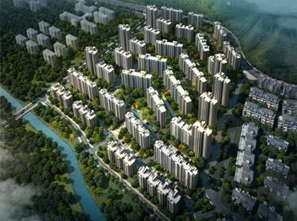 潇湘新区汇景园效果图