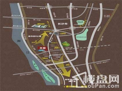 昆仑和府区位交通图