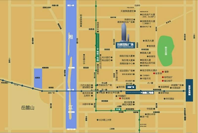 泊富国际广场位置图