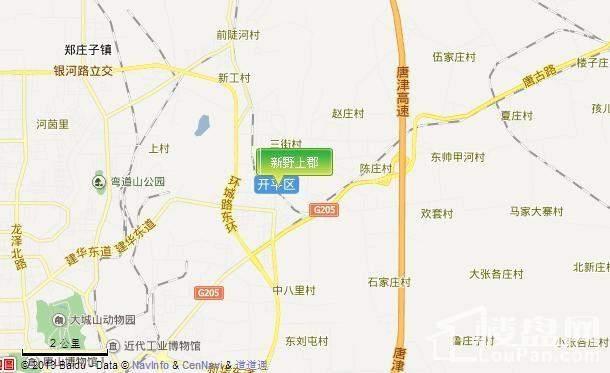 交通位置图