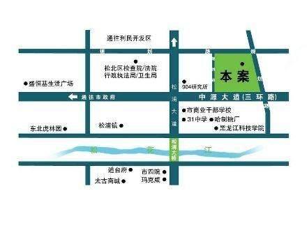 项目位置图