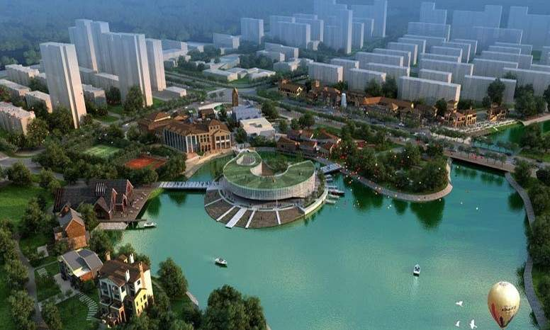 龙湾城实景图