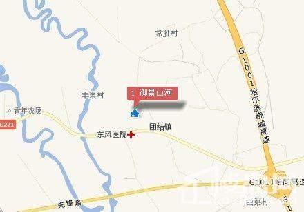 御景山河 位置图