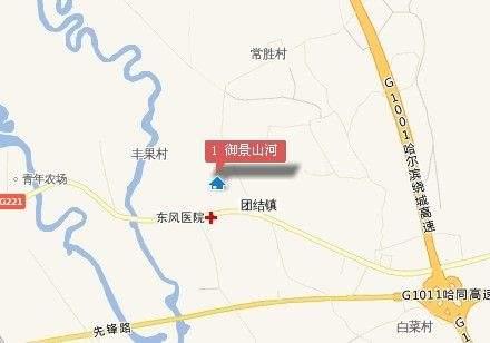 御景山河商铺位置图