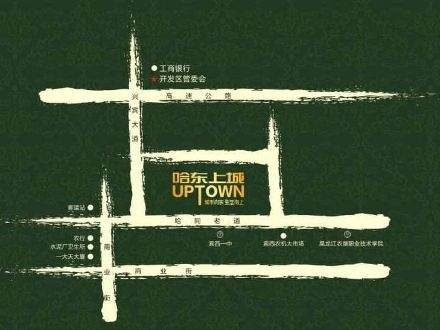 哈东上城商铺位置图