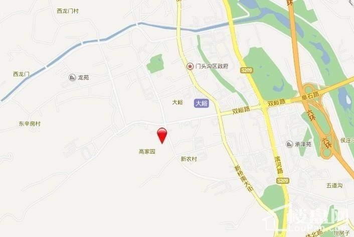 西山艺境位置图