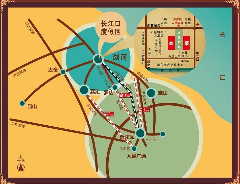 中瑞府前嘉苑位置图