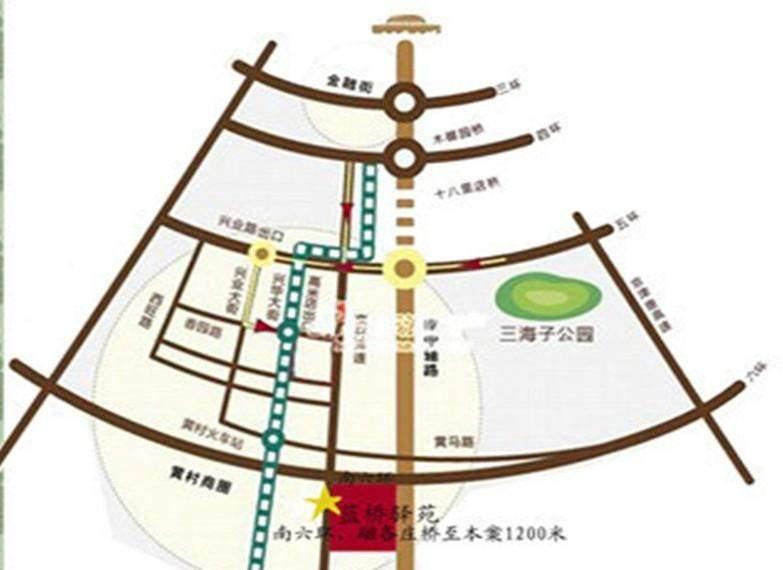 蓝桥驿苑位置图