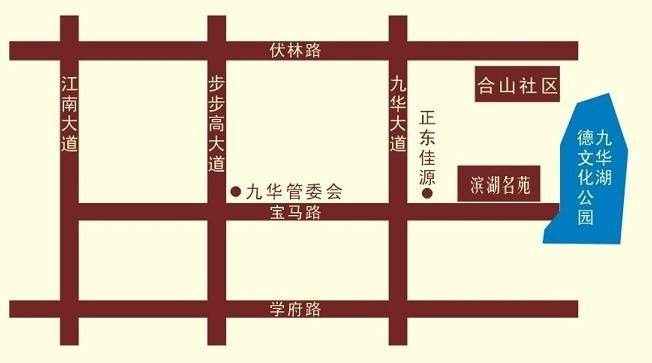 滨湖名苑位置图