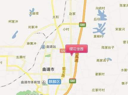 樱花佳园位置图