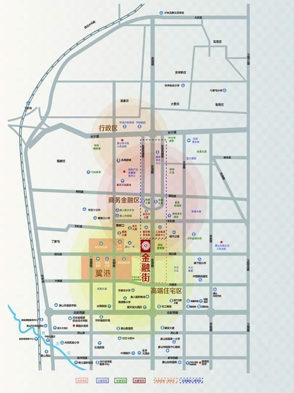 新天地金融街位置图