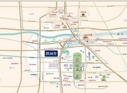 隆河谷位置图