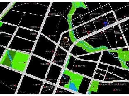 星耀南城商铺位置图