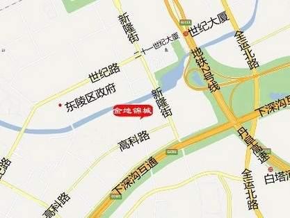 金地锦城位置图