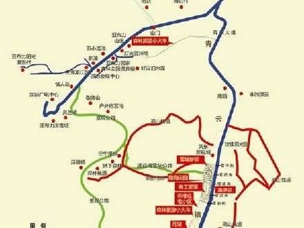 亚布力青云小镇商铺位置图
