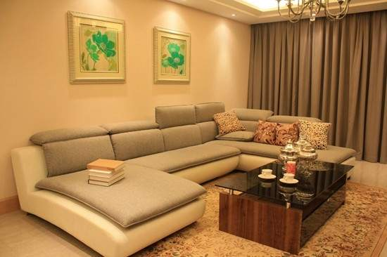香博堡国际样板间 客厅