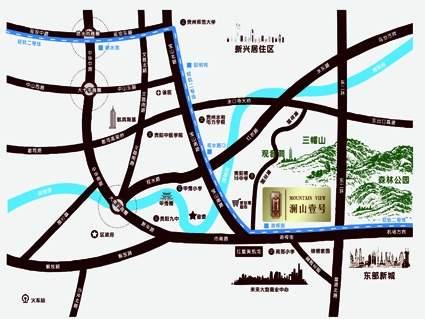 澜山壹号位置图