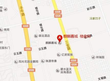 麒麟嘉城位置图