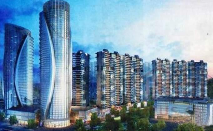 中京国际贵阳北部CBD商铺效果图
