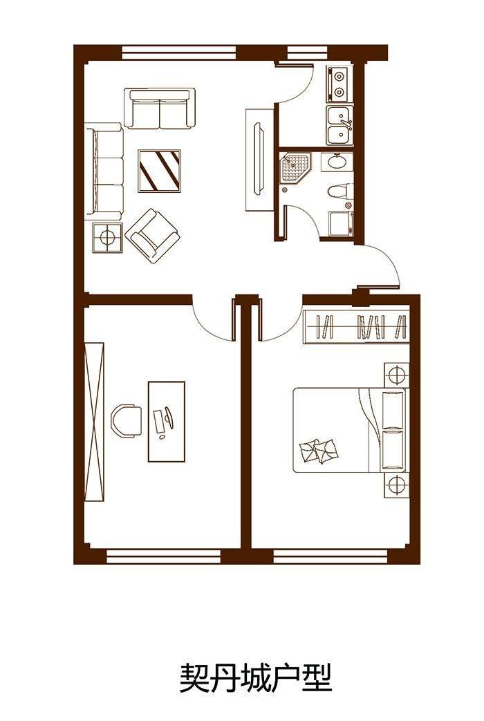 契丹城二层户型图