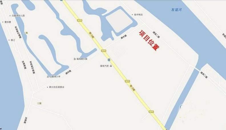 江南岸·随园位置图