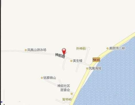 浅水湾山庄二期位置图
