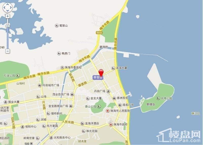 泉福豪庭位置图