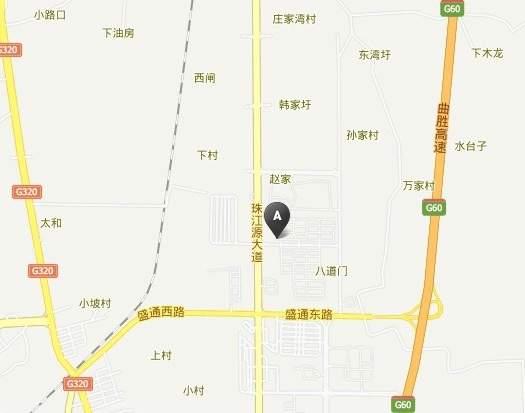 云珠苑位置图