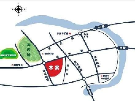 奥园广场位置图