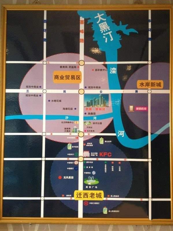 泰隆华林园位置图