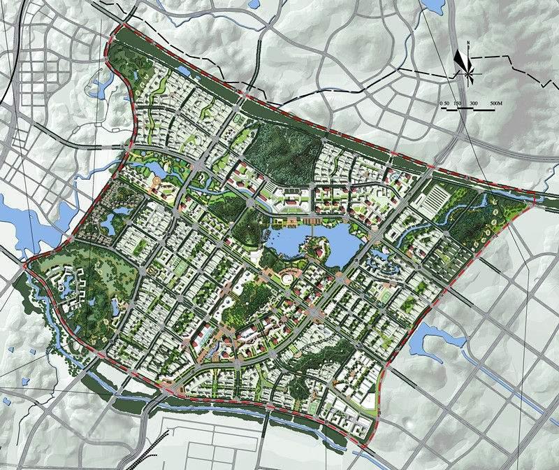 金山新城位置图