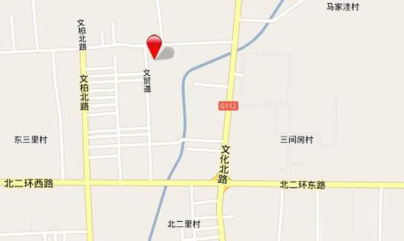 龙祥建材城位置图