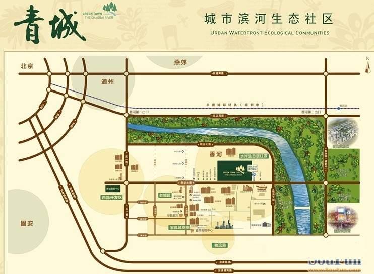 青城位置图