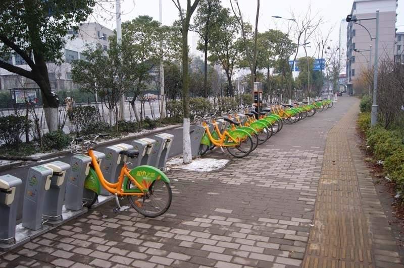 配套图公共自行车