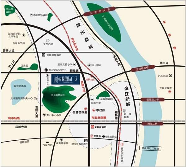 乾源国际广场位置图