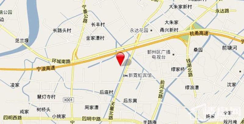 四明公寓手绘地图