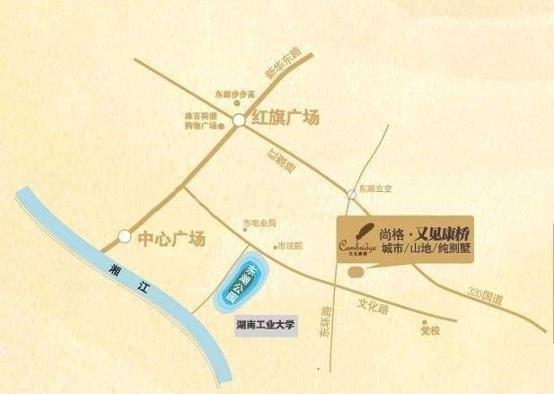 尚格•又见康桥位置图