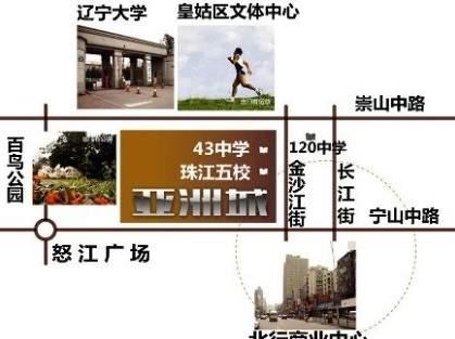 亚洲城位置图