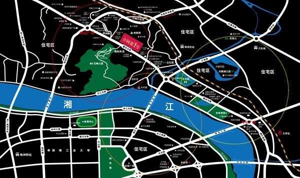 公园道1号商铺位置图