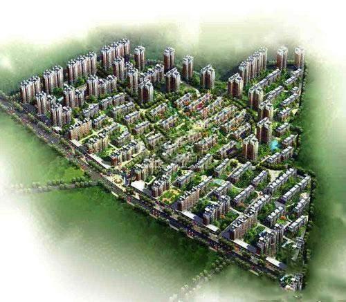 东城绿庭效果图