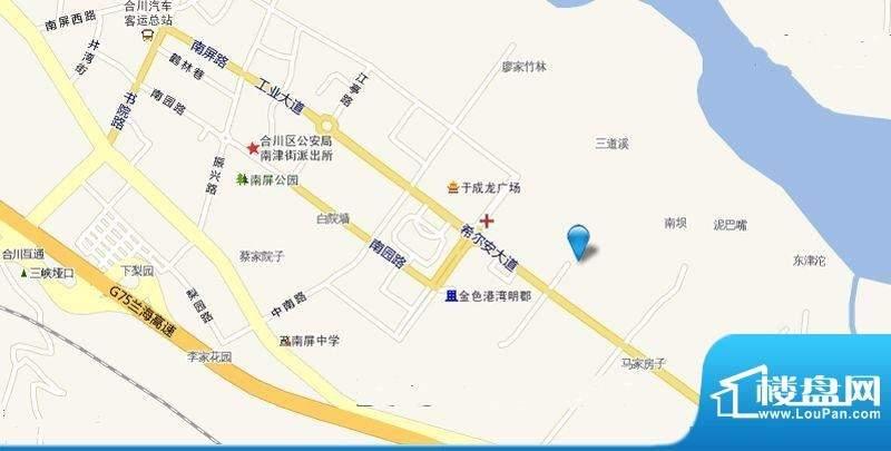 希尔安江上城位置图