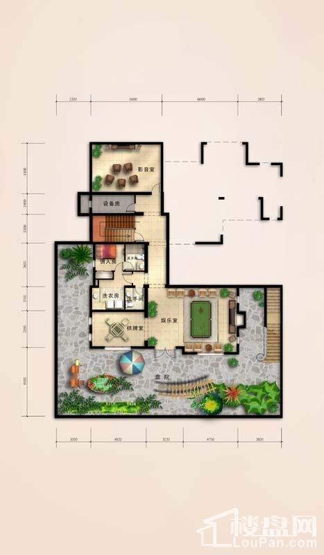 C-花园层户型
