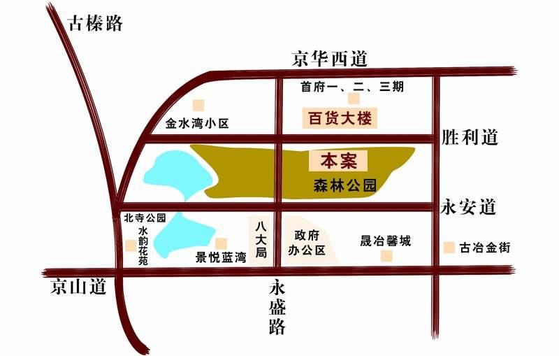 和合婚庆文化广场位置图